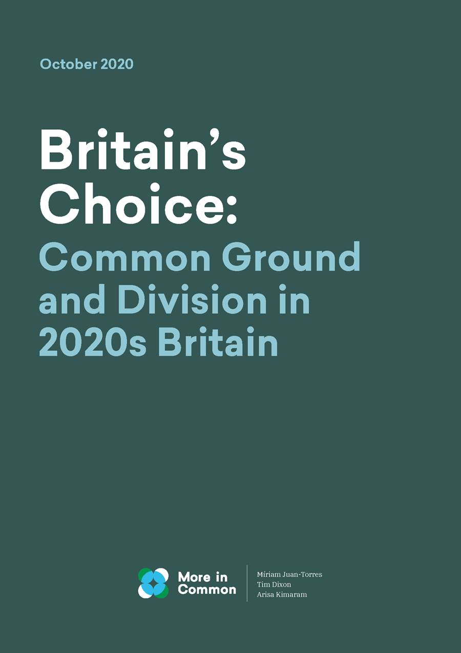 Britain's Choice: Common Ground and Division in 2020s Britain