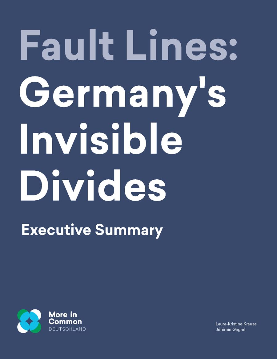 Fault Lines: Germany's Invisible Divides