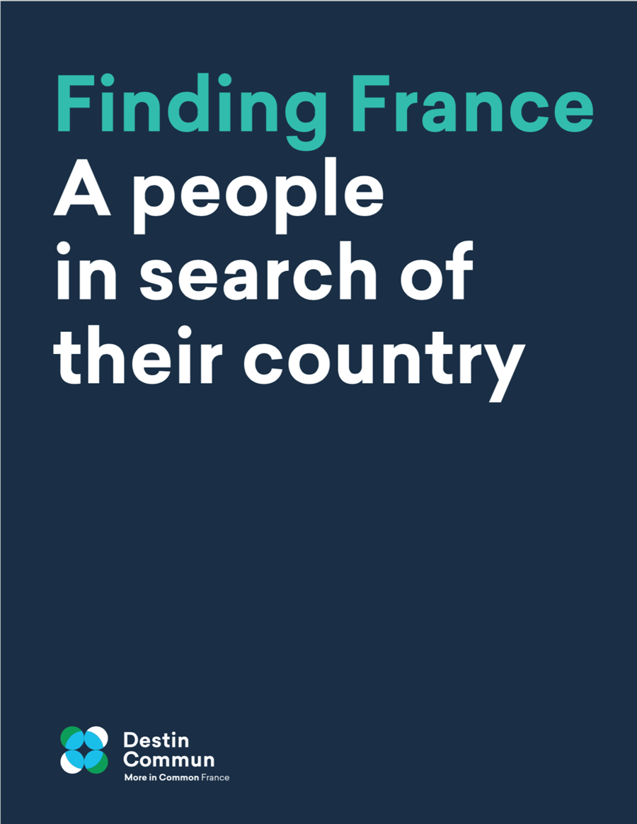 Finding France : A people in search of their country